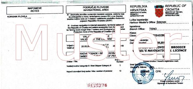 registrierung abmeldung bootsanmeldung kroatien permit